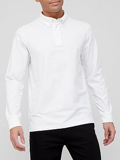very-man-comfort-stretch-long-sleeve-jersey-polo-shirt-white