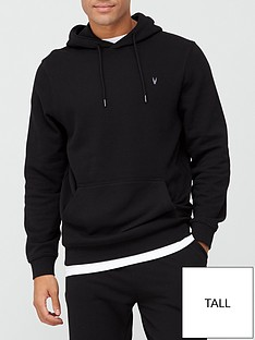 very-man-tall-essential-overhead-hoodie-black