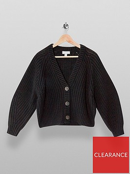 topshop-recycled-cropped-cardigan-black