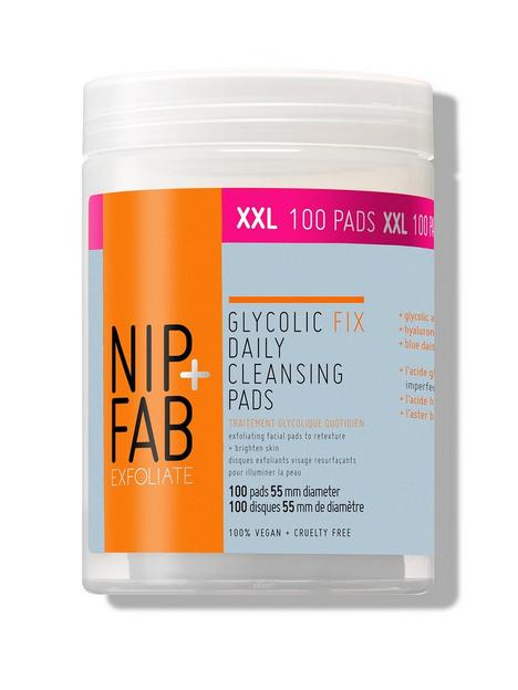 nip-fab-glycolic-fix-daily-cleansing-pads-xxl