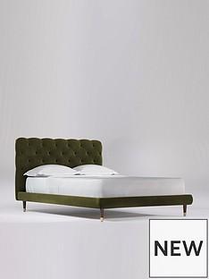 swoon-burbage-velvet-double-bed-frame