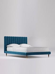 swoon-porlock-velvet-bed-frame