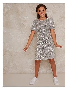 chi-chi-london-girls-lila-dress-silver