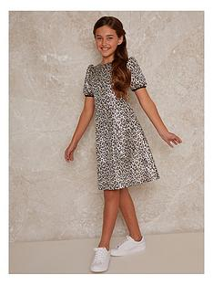 chi-chi-london-girls-leopard-dress-multi