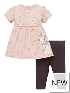disney-baby-girl-the-aristocats-2-piece-marie-dress-and-legging-set-pink