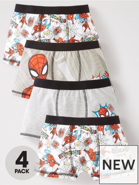 spiderman-boys-4-boxers-multi