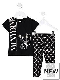 river-island-mini-mini-girls-printed-legging-and-tshirt-set-black
