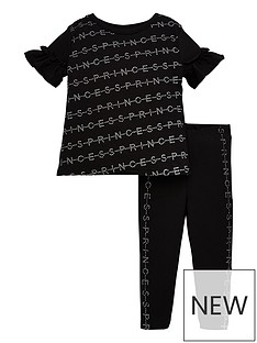 river-island-mini-girls-sparkle-t-shirt-and-legging-set-black