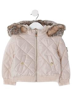 river-island-mini-mini-girls-padded-bomber-jacket--nbsppink