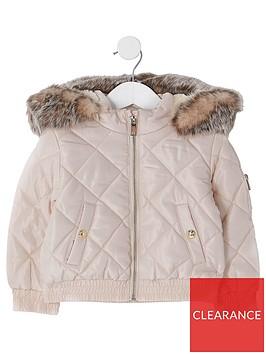 river-island-mini-mini-girls-padded-bomber-jacket--nbsppink