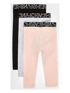 river-island-mini-mini-girls-3-pack-waistband-leggings-multi