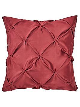 michelle-keegan-madison-pintuck-christmas-cushion-red