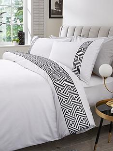 hotel-collection-greek-key-300tc-embroidered-panel-duvet-set-ks