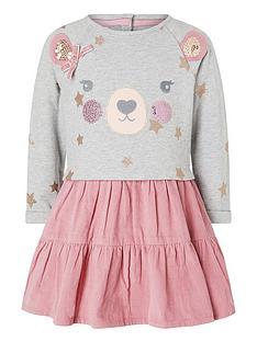 monsoon-baby-girls-bear-2-in-1-dress-pink