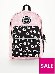 hype-girls-mixed-marker-leopard-backpack-pinkblack
