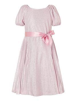 monsoon-girls-mercury-shimmer-pleated-dress-pink
