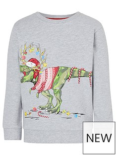 monsoon-boys-dino-christmas-sweatshirt-grey