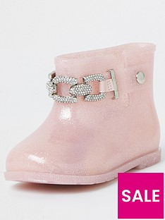 river-island-mini-girls-glitter-chain-wellies-pink