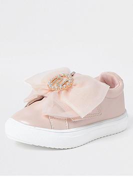 river-island-mini-girls-organza-bow-trainersnbsp--pink