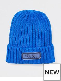 river-island-mini-mini-boys-prolific-knitted-beanie-hat-blue