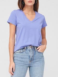 v-by-very-basic-v-neck-t-shirt-blue