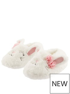 monsoon-girls-bunny-novelty-slippers-ivory