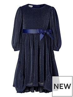 monsoon-girls-sparkle-long-sleeve-dress-navy