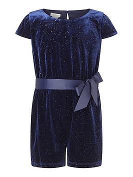 monsoon-girls-sew-velvet-glitter-playsuit-navy