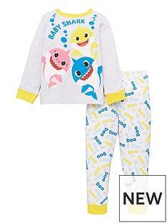 baby-shark-kids-unisex-baby-shark-doo-doo-doo-long-sleeve-pjs-multi