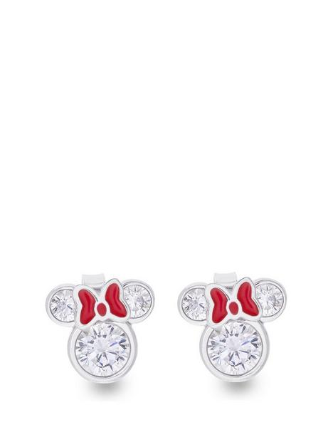 disney-disney-minnie-mouse-sterling-silver-and-red-bow-crystal-stud-earrings