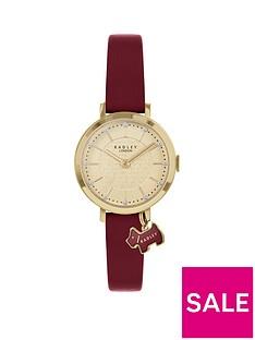 radley-radley-selby-street-gold-dog-charm-dial-dark-red-leather-strap-ladies-watch