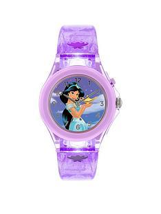 disney-pn5097argnbspprincess-jasmine-dial-light-up-strap-kids-watch