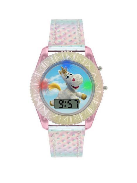 disney-toy-story-buttercup-unicorn-digital-dial-iridescent-strap-kids-watch