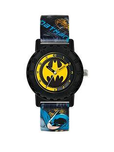disney-batman-yellow-and-black-dial-printed-strap-kids-watch