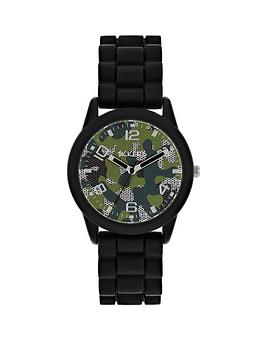 tikkers-camouflage-dial-black-silicone-strap-kids-watch