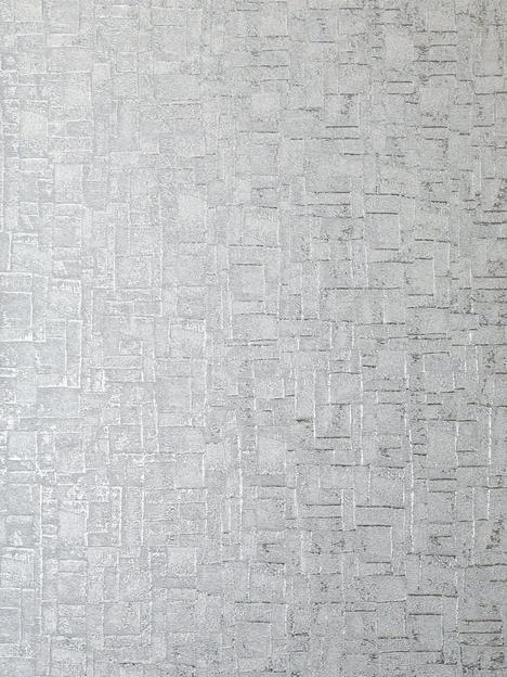 arthouse-basalt-texture-silver-wallpaper