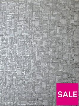 arthouse-basalt-texture-gunmetal-wallpaper