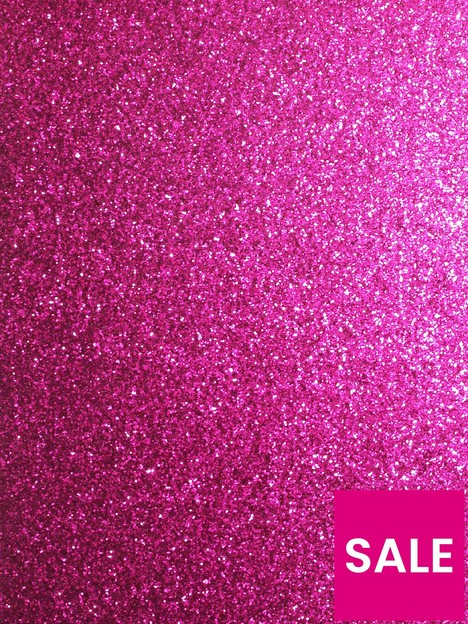 arthouse-sequin-sparkle-hot-pink-wallpaper