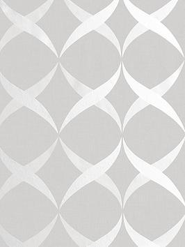 arthouse-metallic-ogee-silver-wallpaper