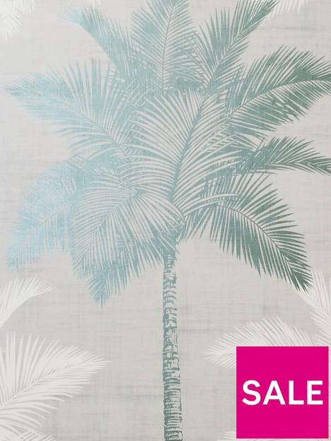 arthouse-palm-luxe-grey-duck-egg-wallpaper