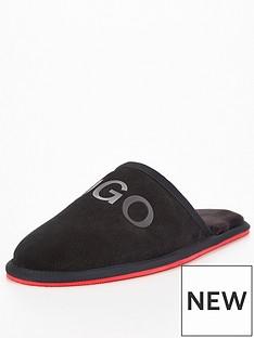 hugo-cozy-slippers-black