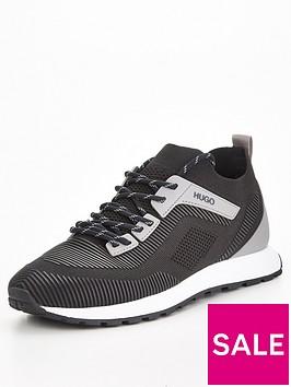 hugo-icelin-knit-runner-trainers-black