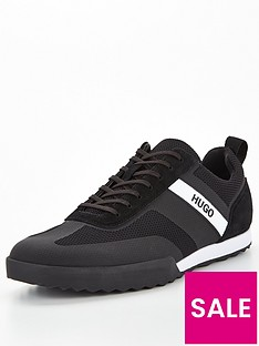 hugo-matrix-low-trainers-black