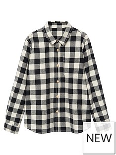 mango-boys-long-sleeved-checked-shirt-creamblack