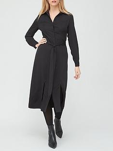 v-by-very-long-sleeve-shirt-dress-black