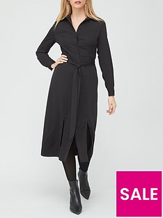 v-by-very-long-sleeve-shirt-dress-black
