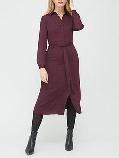 v-by-very-long-sleeve-shirt-dress-wine