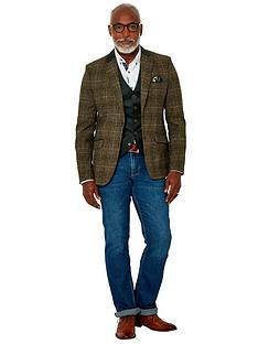 joe-browns-wonderful-winter-check-blazer-green