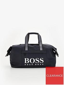 boss-magnify-logo-holdall-bag-navynbsp