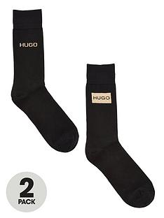 hugo-bodywear-sock-gift-set-2-pack-black